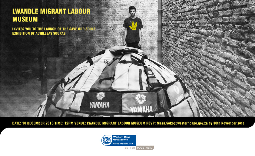 news migrant labour museum launch of save our souls exhibition by achilleas souras